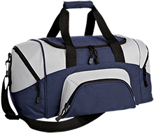 Maranatha Baptist Bible College Crusaders Small Colorblock Sport Duffel Bag