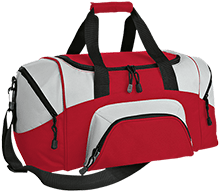 Beauvoir Elementary Indians Small Colorblock Sport Duffel Bag
