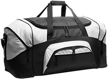 H and H Lawncare Equipment H and H Lawncare Equipm H And H Lawncare Equipment Colorblock Sport Duffel