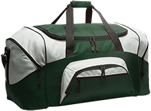 Rancho High Alumni Rams Colorblock Sport Duffel