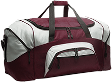 Chestnut Ridge Christian Academy Flames Colorblock Sport Duffel