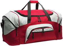 Beauvoir Elementary Indians Colorblock Sport Duffel