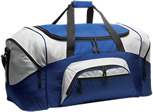 Greenport Elementary School Bluehawks Colorblock Sport Duffel
