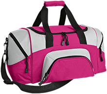 School Colorblock Sport Duffel