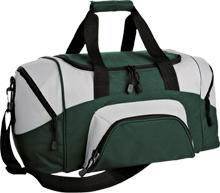 Holy Savior Menard Central High Eagles Small Colorblock Sport Duffel Bag