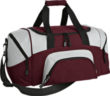 Coyote Creek Elementary School Coyotes Small Colorblock Sport Duffel Bag