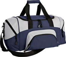 Mercy High School Monarchs Small Colorblock Sport Duffel Bag
