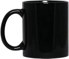 North Sunflower Athletics Black 11 oz. Mug