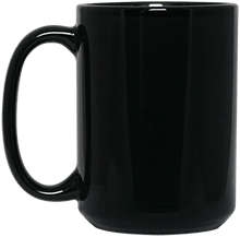 North Sunflower Athletics Black 15 oz. Mug