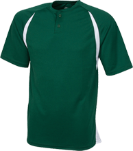 Clearwater-Orchard Cyclones Color-Contrast Polyester 2 Button Jersey