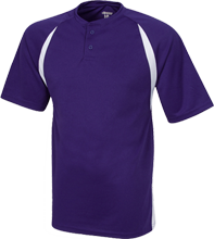Waukee Middle School Warriors Color-Contrast Polyester 2 Button Jersey