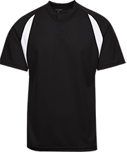Plainview High School Pirates Color-Contrast Polyester 2 Button Jersey