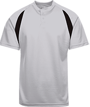 Vincent Settlement Elementary School School Color-Contrast Polyester 2 Button Jersey