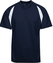La Merced Intermediate School Trojans Color-Contrast Polyester 2 Button Jersey