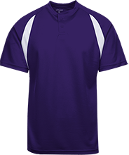 Deep Creek Alumni Hornets Color-Contrast Polyester 2 Button Jersey