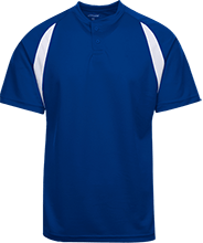 Islesboro Eagles Athletics Color-Contrast Polyester 2 Button Jersey