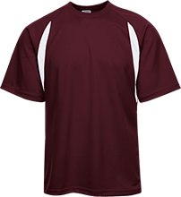 Richmond Plaza Baptist School Rockets Performance Dual-Colored T-Shirt Jersey