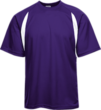 Lamont Christian School Performance Dual-Colored T-Shirt Jersey