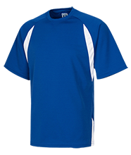 A D Henderson University School Hawks Performance Dual-Colored T-Shirt Jersey