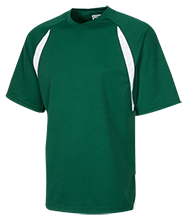 Alpena High School Wildcats Youth Performance Dual-Colored T-Shirt Jersey