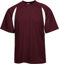 Shepherd Of The Valley Lutheran Youth Performance Dual-Colored T-Shirt Jersey