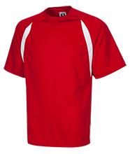 Bay View High School Redcats Youth Performance Dual-Colored T-Shirt Jersey