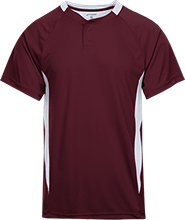 Dawson County Crossroads School Tigers 2-Button Colorblock Jersey