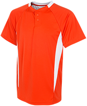 Illini Bluffs High School Tigers Youth 2-Button Colorblock Jersey