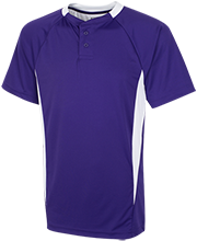 Shamokin Area Junior-Senior High School Indians 2-Button Colorblock Jersey