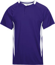 Brownsburg West Middle School Bulldogs 2-Button Colorblock Jersey