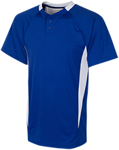 Lewiston High School Blue Devils 2-Button Colorblock Jersey