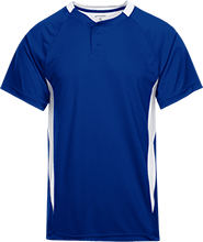 Jordan-Jackson Elementary School Blue Jays Youth 2-Button Colorblock Jersey
