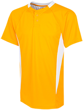 Ponitz Career Technology Center Golden Panthers Youth 2-Button Colorblock Jersey