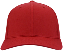 Clinton Prairie High School Gophers Flex Fit Twill Baseball Cap