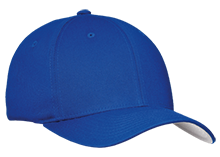 Hopewell Memorial Junior High School Vikings Flex Fit Twill Baseball Cap