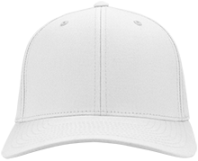 Environmental Charter High School White Tigers Flex Fit Twill Baseball Cap