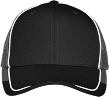 Meade Park Elementary School Mustangs Colorblock Mesh Back Cap