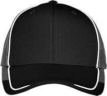 H and H Lawncare Equipment H and H Lawncare Equipm H And H Lawncare Equipment Colorblock Mesh Back Cap