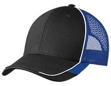 Omaha North High School Vikings Colorblock Mesh Back Cap