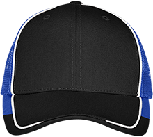 Madison County District 20 School Bulldogs Colorblock Mesh Back Cap