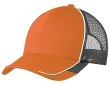 Fowler School Tigers Colorblock Mesh Back Cap