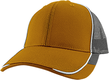 Rudyard High School Bulldogs Colorblock Mesh Back Cap