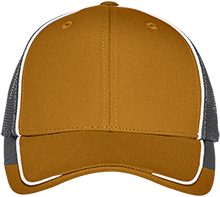 Hockey Colorblock Mesh Back Cap