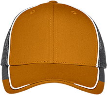 School Colorblock Mesh Back Cap