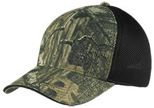 Baker Elementary School Braves Camo Cap with Mesh