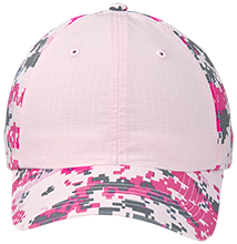 H and H Lawncare Equipment H and H Lawncare Equipm H And H Lawncare Equipment Colorblock Digital Camouflage Cap