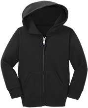 East Hall High School Vikings Toddler Full Zip Hoodie