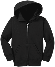 Manchester East Soccer Toddler Full Zip Hoodie