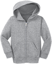 West Branch Middle School School Toddler Full Zip Hoodie