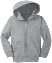 Central Catholic High School - Allentown School Toddler Full Zip Hoodie
